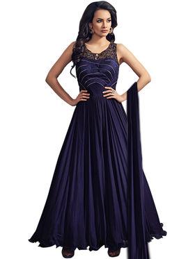 Thankar Semi Stitched  Georgette Embroidery Dress Material Tas298-5096