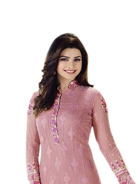 Thankar Semi Stitched  Pure Georgette Embroidery Dress Material Tas299-3211