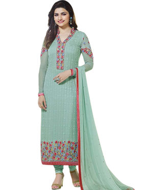 Thankar Semi Stitched  Pure Georgette Embroidery Dress Material Tas299-3213