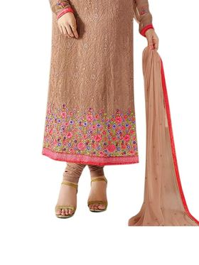 Thankar Semi Stitched  Pure Georgette Embroidery Dress Material Tas299-3215