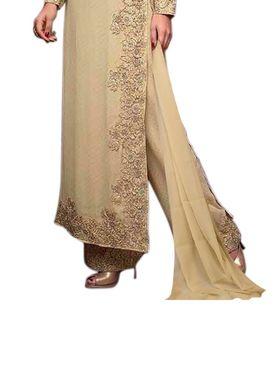 Thankar Semi Stitched  Georgette Embroidery Dress Material Tas314-78