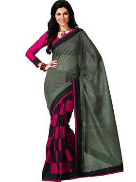 Thankar Embroidered Bhagalpuri Saree -Tds136-185