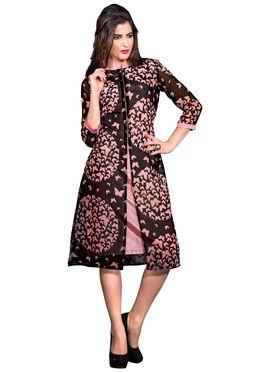 Khushali Fashion Georgette Printed Stitched Kurti -T1001