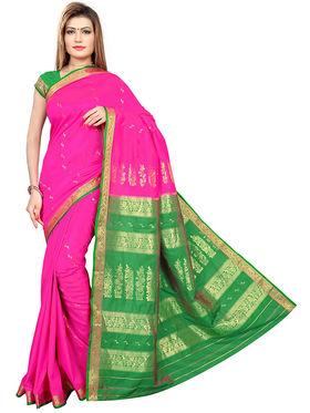 Triveni Art Silk Zari Worked Saree -Tsmrcc3007