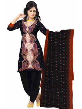 Triveni's Blended Cotton Printed Dress Material -TSSK13038