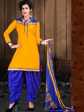 Viva N Diva Cotton Lace Work Embellished Unstitched Suit Tanaz-112