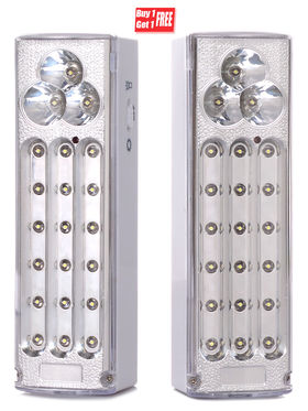 21 LED Rechargeable Emergency Light cum Night Lamp
