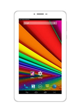 UNI N2 Dual Sim Dual Core Android Kitkat 3G Calling Tablet - White