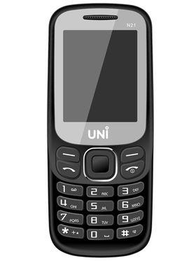 UNI N21 Dual Sim Mobile - Black