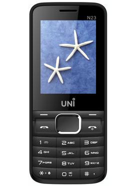 UNI N23 Dual Sim Mobile - White