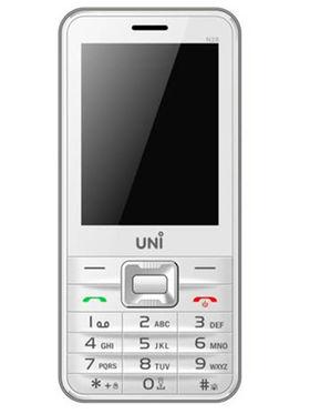 UNI N28 Dual Sim Mobile - White