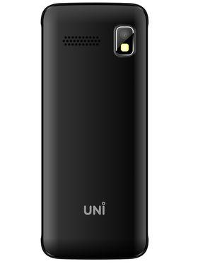 UNI N3300 Triple Sim Mobile - Black