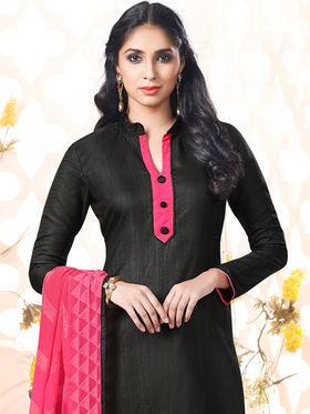 Viva N Diva Bhagalpuri Silk Embellished Unstitched Suit Utsav-5009