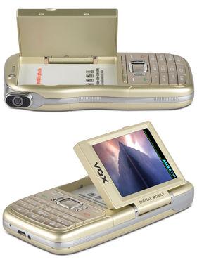 VOX 4 SIM Touch & Type Dual Camera Mobile cum Camcorder - DV10