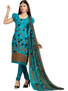 Khushali Fashion Silk Printed Unstitched Dress Material -VRIS21018