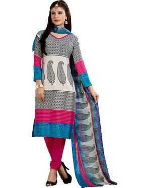 Khushali Fashion Silk Printed Unstitched Dress Material -VRIS21031