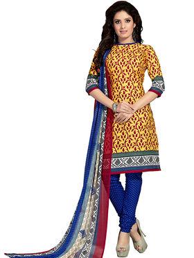 Khushali Fashion Cotton Printed Dress Material -Vrshn5015