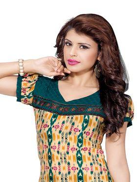 Khushali Fashion Silk Printed Unstitched Dress Material -VSPKV24420