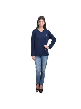 Pack of 4 Eprilla Spun Cotton Plain Full Sleeves Sweaters -eprl55