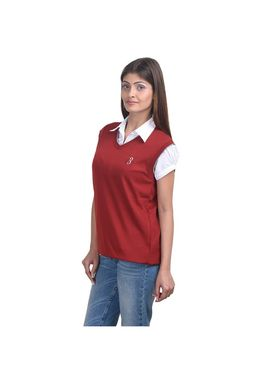 Pack of 3 Eprilla Spun Cotton Plain Sleeveless Sweaters -eprl24