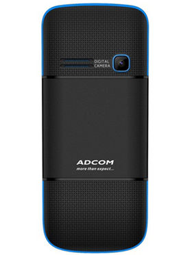 Adcom Diamond X18 Dual Sim Mobile-Black & Blue