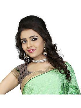 Khushali Fashion Silk Crepe Jacquard Saree(Multi)_YNCHN20549