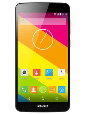 Zopo Color S5.5 4G LTE, (HD, 1GB + 8GB, 3000mAh, Dual Sim, MTK 64Bit Quad Core, (Black)