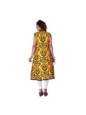 Viva N Diva Cotton Rayon Printed Kurtis -Zeesha-Vnd-2006-B