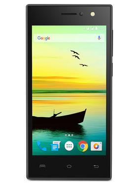 Lava A76 Lollipop 4G SmartPhone (RAM : 1 GB ROM : 8 GB) - Black