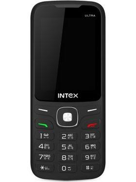 Intex Ultra 3000 Dual Sim Phone - Black & Blue