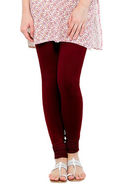 Pack of 5 Oh Fish Solid Pure Cotton Stretchable Leggings -zwe01