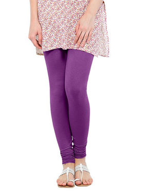 Oh Fish Solid Cotton Stretchable Leggings -zwe89