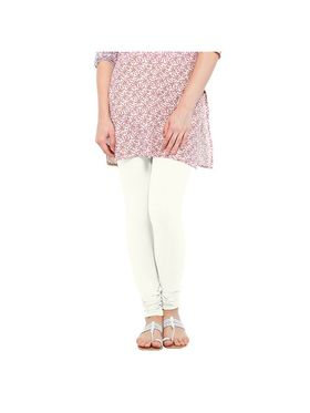 Oh Fish Solid Cotton Stretchable Leggings -zwe86