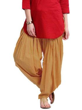 Combo of 2 Javuli Plain Pure Cotton Semi Patiala Salwar-ja19