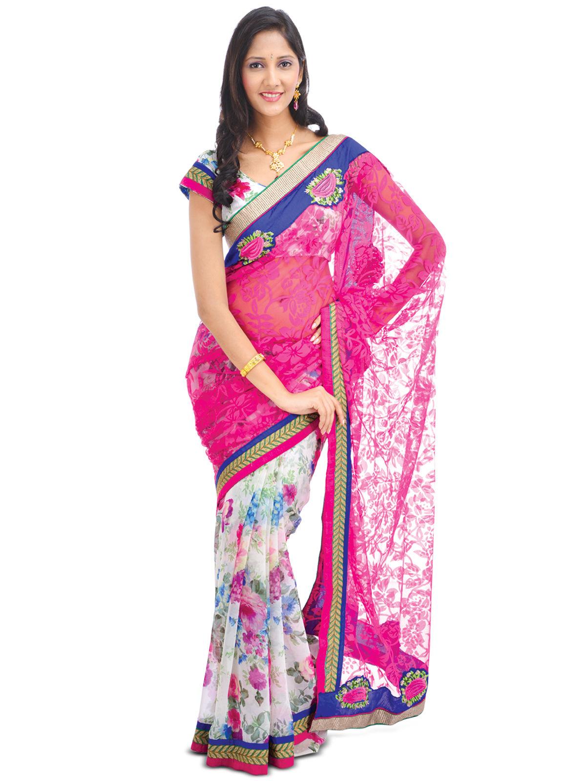 Buy Elegant Designer Wear Bollywood Saree Bds1 Online At Best Price In India On
