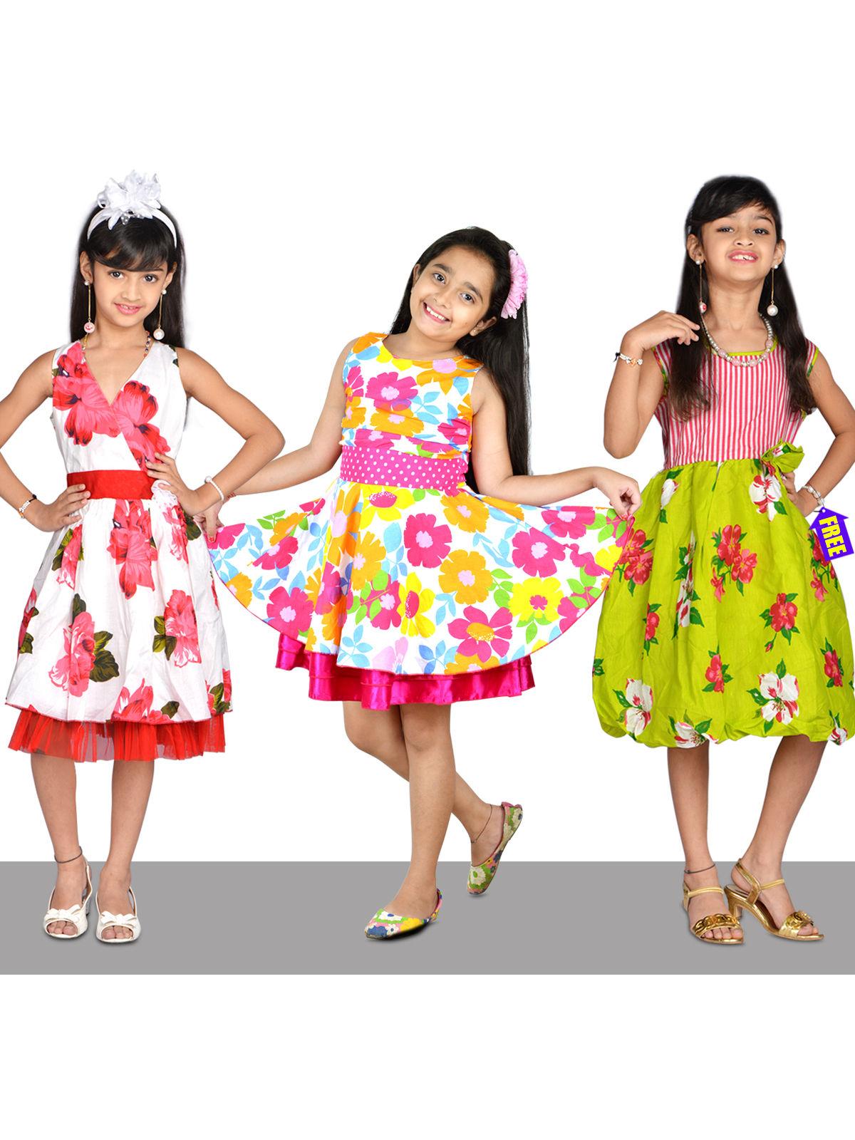 1f09cec82 Buy Princess Frocks - Buy 2 Get 1 Free Online at Best Price in India ...