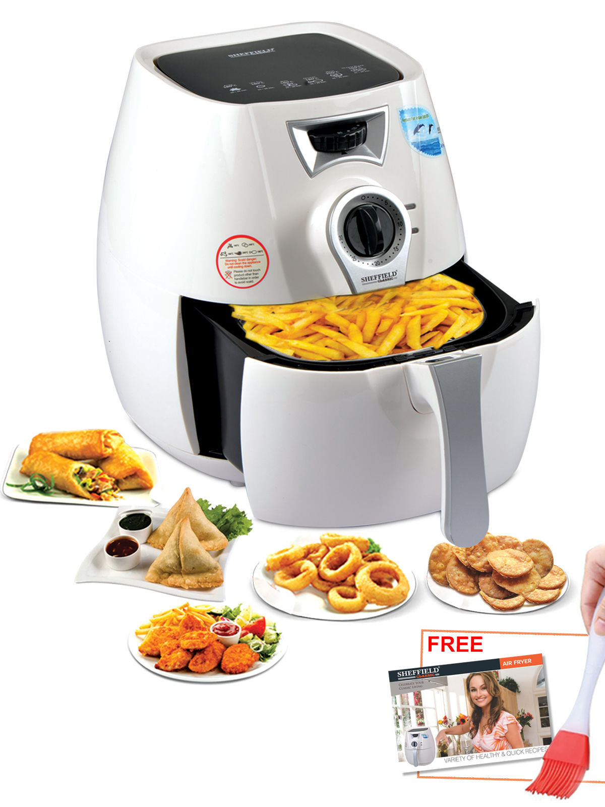 Buy Sheffield Pro Health Air Fryer Online At Best Price In India On