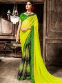 Viva N Diva Georgette  Printed Saree 10123-Tia