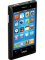 VOX 4 SIM Full Touch Screen Ultra Slim Mobile with TV - V810 - Black