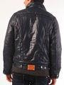 Branded Plain Full Sleeves Polyster Jacket For Men - Black