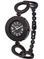Dezine Wrist Watch for Women - Black_DZ-LR016-BLK-BLK