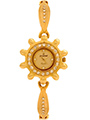 Dezine Wrist Watch for Women - Golden_DZ-LRD005-GLD-GLD