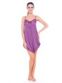 Fasense Satin Slip Nightwear - Purple
