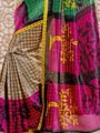 Marvellous Collection of 7 Tussar Art Silk Sarees (7B5)
