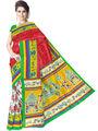 Pack of 6 Printed Bhagalpuri Artsilk Multicolor Sarees-ad35