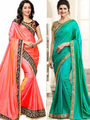 Pack of 2 Style Amaze Silk  Multi Colour -SASUNDAY-1515,NX-28