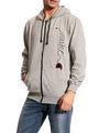Brohood Cotton Blend Full Sleeves Casual Sweatshirt For Men - Grey_SKH33019